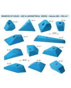 MAKAK CLIMBING HOLD SET Big Set Geometric 20