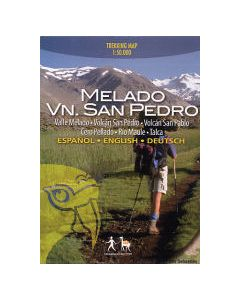 Melado - Volcon San Pedro map 1:50 000