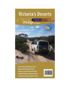 MERIDIAN VICTORIAS DESERTS 4WD MAP 1-350,000