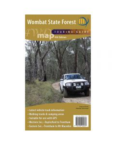 MERIDIAN WOMBAT FOREST 4WD MAP 1-50,000