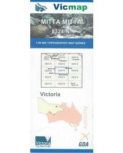 VICMAP 50K MITTA MITTA 8324-N