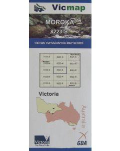 VICMAP 50K MOROKA 8223-S