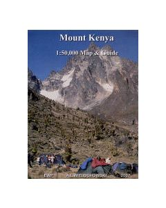Mount Kenya Map and Guide1:50 000
