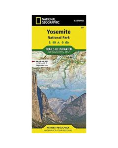 YOSEMITE NATIONAL PARK 1:80,000