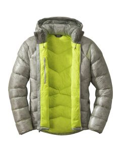 OUTDOOR RESEARCH INCANDESCENT HOODED DOWN JACKET MENS