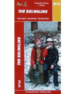 THE ROLWALING MAP 1:100,000