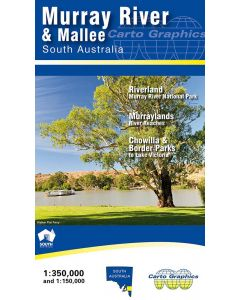 MURRAY RIVER AND MALLEE MAP 1-350,000