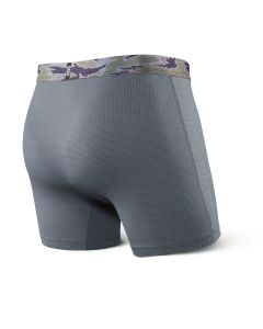 SAXX QUEST BOXER BRIEF FLY Dark Charcoal