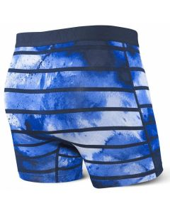 SAXX VIBE BOXER BRIEF Navy Tie Dye Stripe