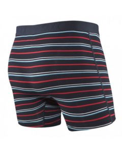 SAXX VIBE BOXER BRIEF Dark Ink Coast Stripes