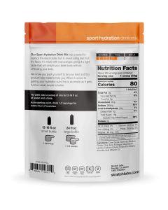 SKRATCH LABS Sport Hydration Drink Mix, Oranges, 440g, 20 Serves