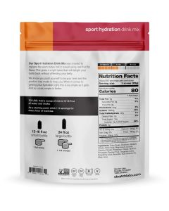 SKRATCH LABS Sport Hydration Drink Mix, Fruit Punch, 1320g, 60 Serves