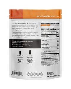 SKRATCH LABS Sport Hydration Drink Mix, Oranges, 1320g, 60 Serves