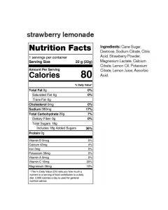 SKRATCH LABS Sport Hydration Drink Mix, Strawberry Lemonade, 22g