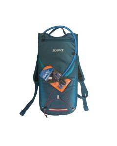 SOURCE BRISK Hydration Pack 3L Coral Blue