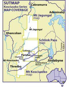 Mt Kosciuszko1:40000 waterproof SUTMap