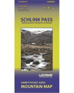 Schlink Pass 1:40000 waterproof SUTMap