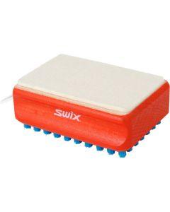 SWIX NYLON BRUSH with felt pad