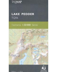 TASMAP 50K LAKE PEDDER TQ06