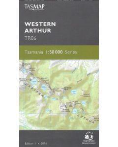 TASMAP 50K WESTERN ARTHUR TR06