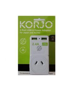 KORJO USB AND POWER ADAPTOR - JAPAN