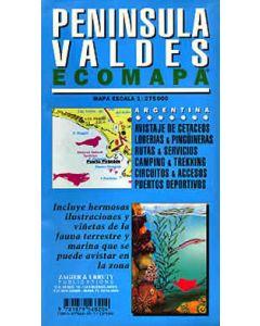 PENINSULA VALDES 1-275K MAP
