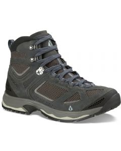 Ventilated hiking boots.