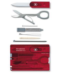 VICTORINOX SWISS CARD RED