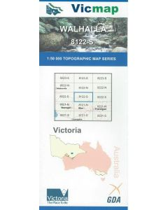 VICMAP 50K WALHALLA 8122-S