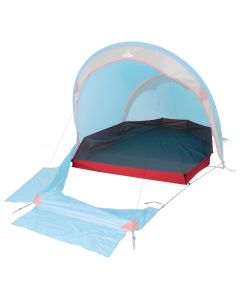 Groundsheet only. (Tent not included.)