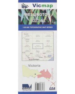 VICMAP 50K WELLINGTON 8222-N