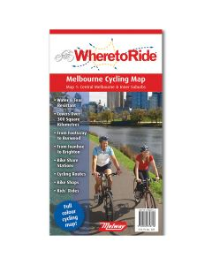 WHERE TO RIDE MELBOURNE CYCLING MAP