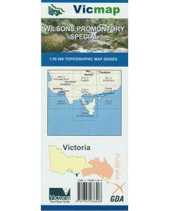 VICMAP 50K WILSONS PROMONTORY SPECIAL