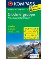 KOMPASS GLOCKNERGRUPPE Map 1:50,000