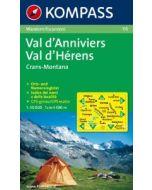 KOMPASS VAL D ANNIVIERS Map 1:50,000