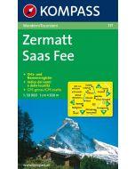 ZERMATT SAAS-FEE 1:40,000