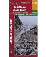 LANGTANG & HELAMBU MAP 1:125,000