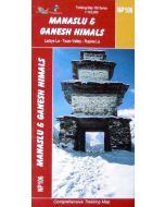 MANASLU & GANESH HIMALS MAP 1:125,000