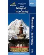 MANASLU & TSUM VALLEY MAP 1:125,000