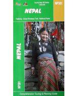 NEPAL - GREAT HIMALAYA TRAIL MAP 1:500,000