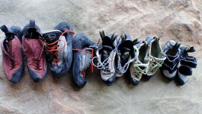 Climbing Shoe Stink