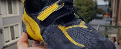 Review: La Sportiva Solution Comp Climbing Shoe