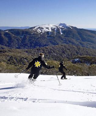 Mt Stirling Ski Patrol in action.