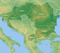 SE Atlas locator map