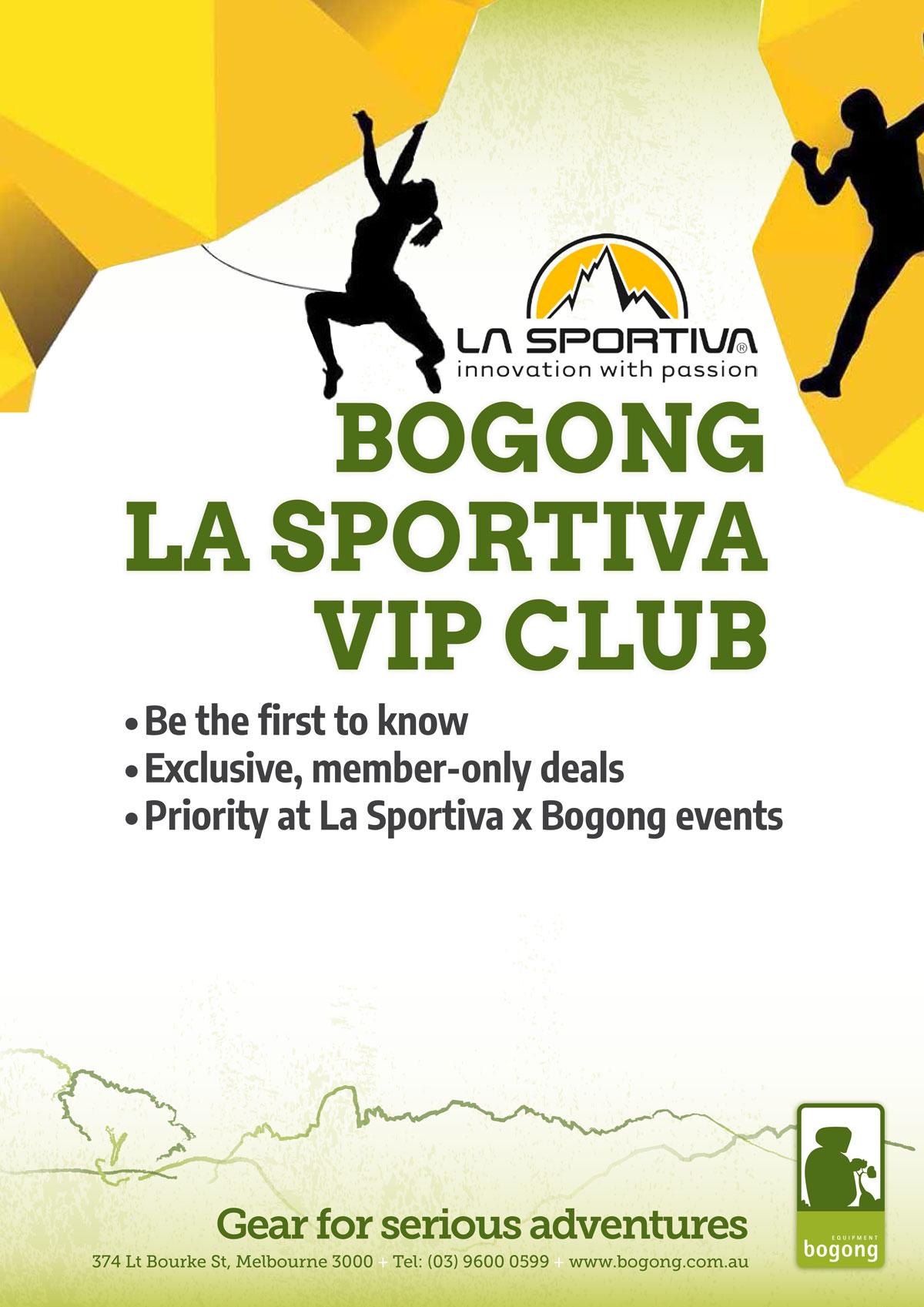 La Sportiva VIP Club poster