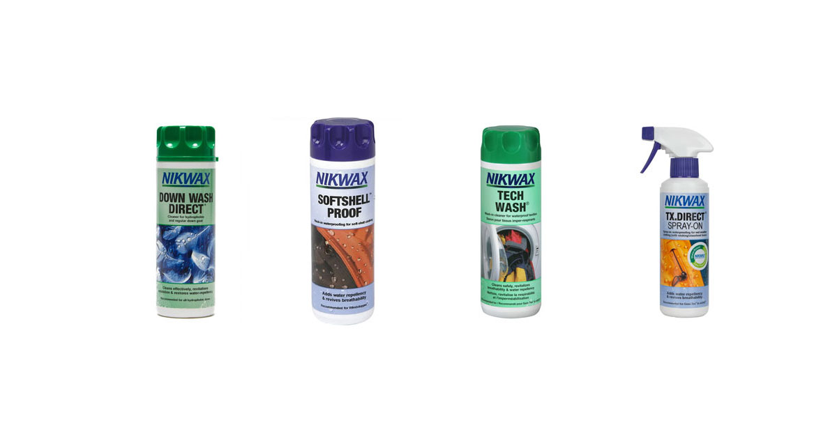 Proofings, cleaners, treatments for outdoor gear