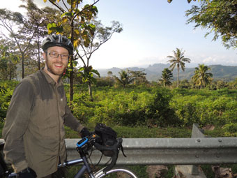 Nearing the end of a 124km day