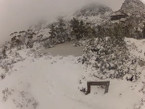 Artists Pool, near Cradle Mountain